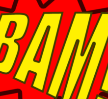 BAM! T-Shirt Design. Sticker