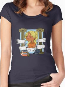 Wise Girl Women's Fitted Scoop T-Shirt