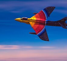 """Hawker Hunter F58 """"Miss Demeanour"""" by Chris Lord"""