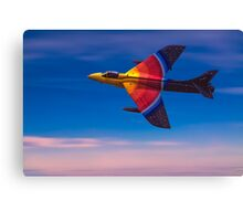 "Hawker Hunter F58 ""Miss Demeanour"" Canvas Print"