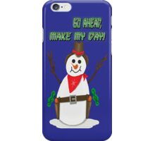 Cowboy Snowman iPhone Case/Skin