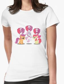 Cutie Mark CRUSADERS! Womens Fitted T-Shirt