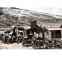Old West Town Photographic Print