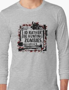 Hunting Zombies Long Sleeve T-Shirt