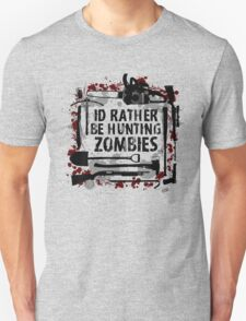 Hunting Zombies Unisex T-Shirt
