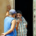 Shooting the breeze, Trinidad, Cuba by buttonpresser