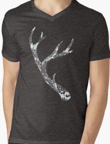Tracks and Signs Mens V-Neck T-Shirt