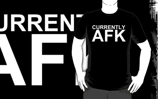 Currently AFK (Reversed Colours) by NiteOwl