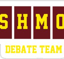 Rushmore Debate Team Sticker