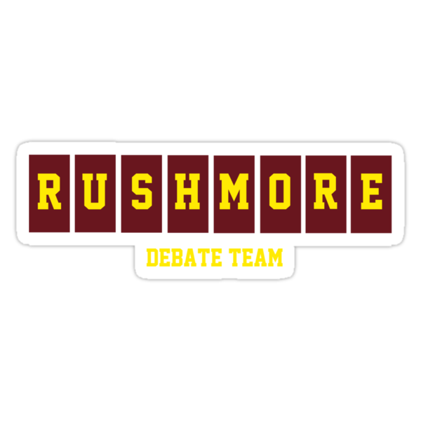 Rushmore Debate Team by ashedgreg