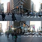 The Scramble At Bay & Bloor by Gary Chapple