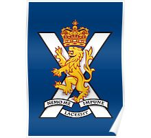 Royal Regiment of Scotland - British Army Poster