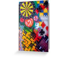 Games People Play 2 Greeting Card