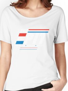 Red Lasers vs. Blue Lasers Women's Relaxed Fit T-Shirt