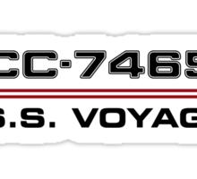 ST Registry Series - Voyager Logo Sticker