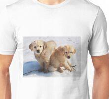 Golden Retriever Puppies First Winter #3 Unisex T-Shirt