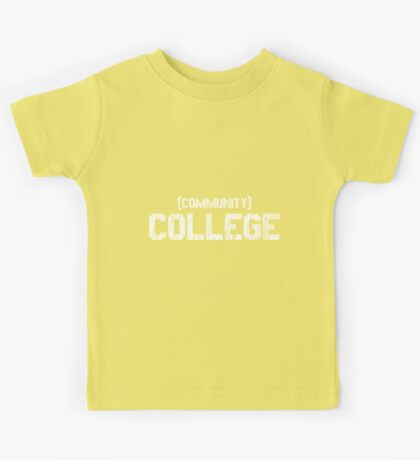 (Community) COLLEGE Kids Tee