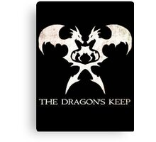 The Dragon's Keep Canvas Print