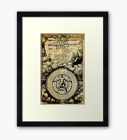 Historia Metaphysica Framed Print