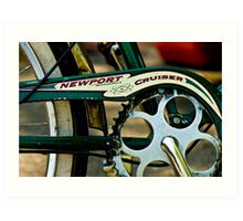Newport Cruiser Art Print