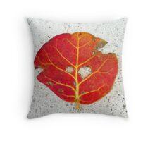 Sea Grape Throw Pillow