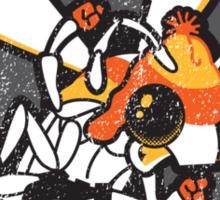 The Fighting Fireflies Sticker