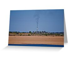 Sugar mill Greeting Card