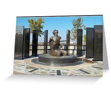 National POW-MIA Memorial  Greeting Card