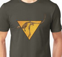 Kangaroo Skeleton Roadsign Unisex T-Shirt