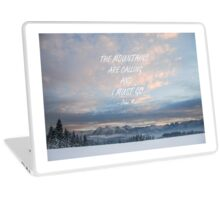 Mountains are calling 4 Laptop Skin