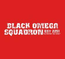 Black Omega Squadron Kids Tee