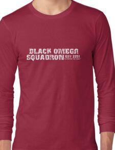 Black Omega Squadron Long Sleeve T-Shirt