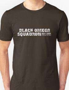 Black Omega Squadron Unisex T-Shirt