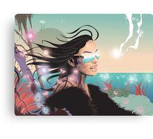Summer glo Canvas Print