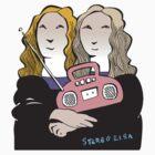 Stereo Lisa by Matt Mawson
