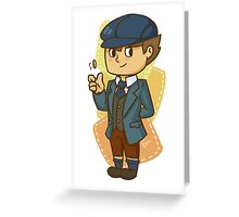 Sly Patchwork Clive Greeting Card