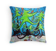 Making Wishes Come True Throw Pillow