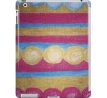 Beads in pastel iPad Case/Skin
