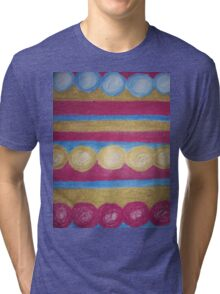 Beads in pastel Tri-blend T-Shirt