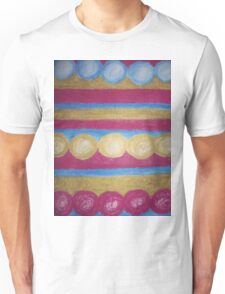 Beads in pastel Unisex T-Shirt