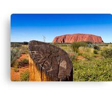 Ayers Rock Uluru, Australia Canvas Print