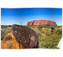 Ayers Rock Uluru, Australia Poster