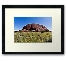 Uluru, Ayers Rock, Australia Framed Print