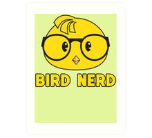 Funny Bird Nerd Ornithology Bird Watching T Shirt Art Print
