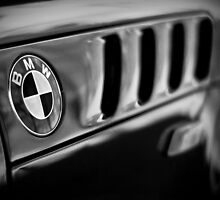 BMW Badge B&W by trussphoto