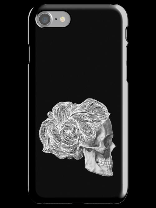 skull per saeta - white ink by sjem ©
