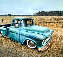 1956 Chevy 3100 by trussphoto