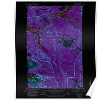 USGS Topo Map Washington State WA Ross Dam 243523 1963 24000 Inverted Poster