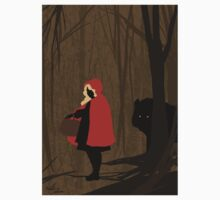 Liltte Red Riding Hood and the Wolf Kids Tee