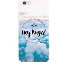 Hey Angel - Sky iPhone Case/Skin